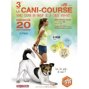 Cani-Course de la Spa : courir avec et pour les animaux